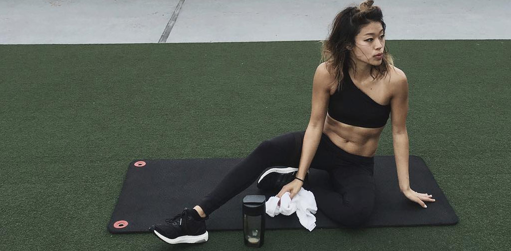 I always find the opportunity  to get my post-workout smoothie in.  And there is no better way to  drink it with my mousfitness bottle  - when style meets practicality,